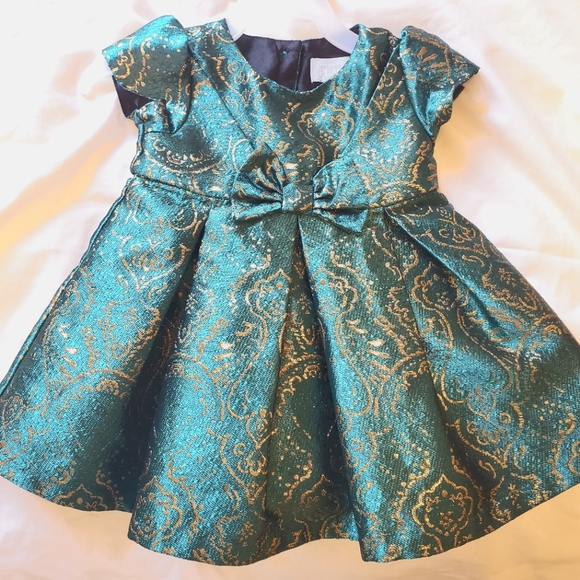 Children's Place Formal Dress (3-6 months) + BONUS FREE SHOES!!